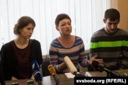 Юлія Бурштановіч, Ніна Шыдлоўская, Аляксей Кавальчук