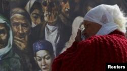 День памяти жертв геноцида крымскотатарского народа. Киев, 18 мая 2018 года