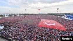 Түркиядағы президент сайлауы алдындағы үгіт-насихат
