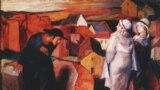 """Картина """"Встреча"""" – единственная сохранившаяся живопись маслом Бруно Шульца"""