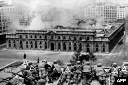 Столкновения в Сантьяго, 11 сентября 1973 года