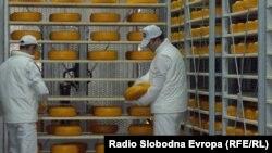 Сырное производство в Македонии