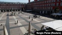 Централниот плоштад во Мадрид