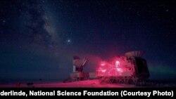10-метровый телескоп станции BICEP