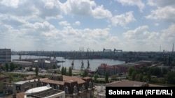 Constanta, România 2016: portul