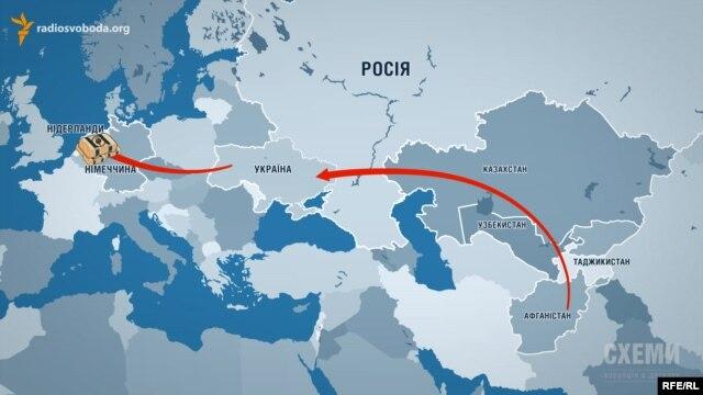 «Шелковый путь» афганского героина ведет в «ЛНР»