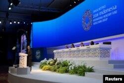 Заседание МВФ в Индонезии. 12 октября 2018 г.