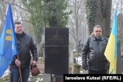 Могила Костя Лоського