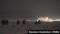 Поисково-спасательные работы на месте гибели Ан-148