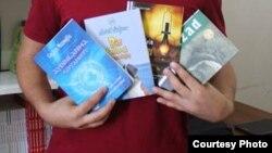 Bakı, kitablar, arxiv foto
