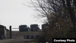 რუსეთის სამხედრო ბაზა აფხაზეთის ადმინისტრაციულ საზღვართან
