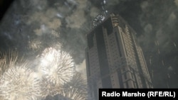 Chechnya - Firework in Grozny, 16May2012