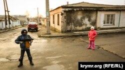Дети в старом городе Симферополя