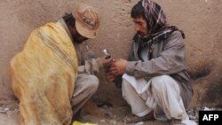 Narkomani u afganistanskom gradu Heratu