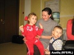 Эльмира Нигъмәтҗан балалары белән
