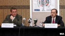 Прес конференција на ОБСЕ/ОДИХР за изборите