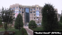 Здание Национального банка Таджикистана в г. Душанбе