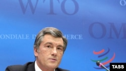 Виктор Ющенко пообещал, что Киев не будет препятствовать вступлению Москвы в ВТО
