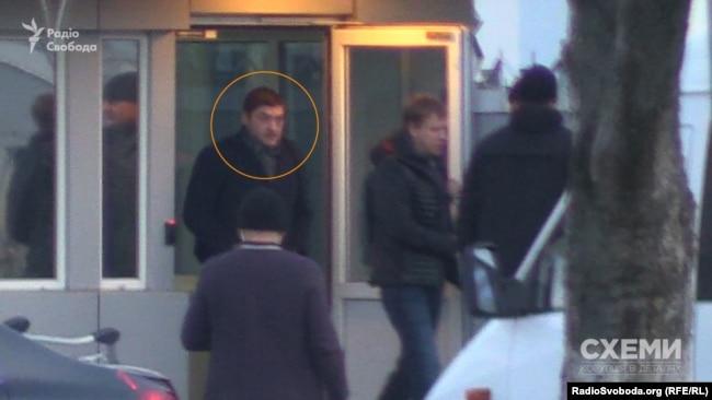 Голова правління «Укрнафтобуріння» Михайло Бакуненко. 22 листопада. Аеропорт «Бориспіль»