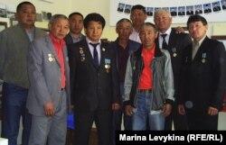 Ликвидаторы чернобыльской аварии. Семей, 26 апреля 2012 года.