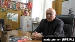 Հայաստանի սամբոյի ֆեդերացիայի նախագահ Լևոն Հայրապետյանը