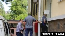 Server Mustafayev Aqmescitteki mahkemede, arhiv fotoresimi