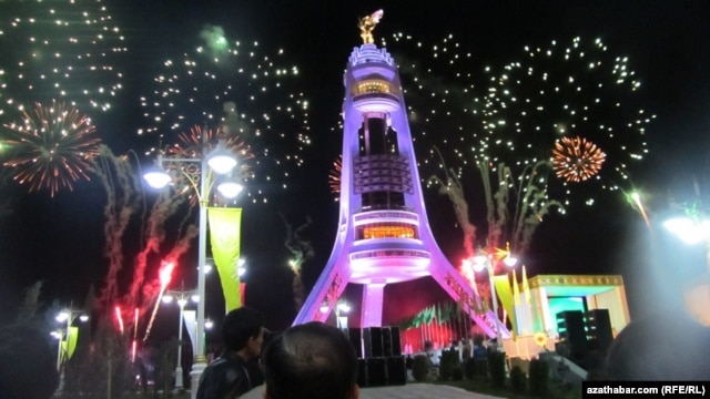 Turkmenistan traditionally rolls out lavish celebrations to mark its neutral status. (file photo)