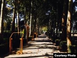Парк в Исфахане