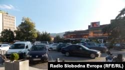 Паркинг простор во Битола.