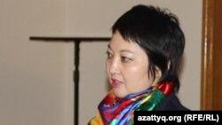 Салтанат Жарасова. Алматы, 4 ақпан 2015 жыл.
