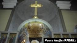 Služba u Crkvi sv. Marka, Beograd, fotoarhiv