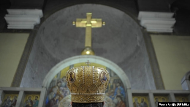 Ljubisa Rajic says the Serbian Orthodox Church has been on the offensive in society.