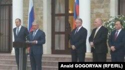 По словам абхазского лидера, приезд главы российского МИДа – яркое подтверждение того, какое внимание уделяет Москва отношениям с Абхазией