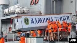 Архивное фото совместных военно-морских учений России и Китая в сентябре 2016 года