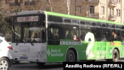 Автобусы фирмы Transgate в Баку