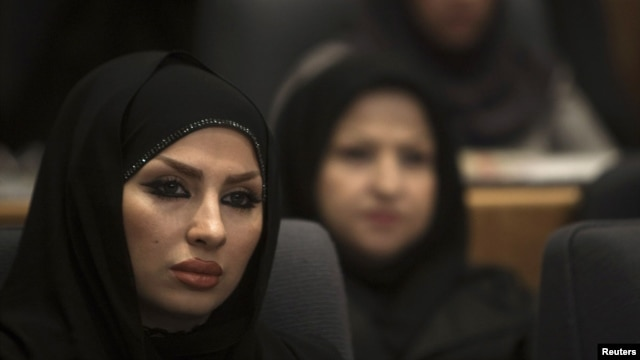 Iranian women face arrest for not properly covering up.