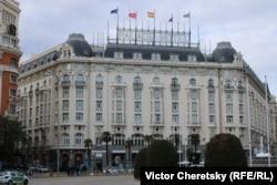 """Отель """"Палас"""" в Мадриде, фигурирующий в романе """"По ком звонит колокол"""""""