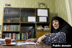 Azam Taleghani has long been one of Iran's most active women's rights campaigners. (file photo)