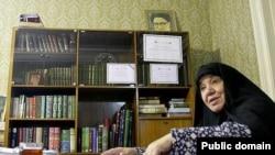 Защитник прав женщин Азам Талегани.