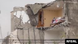 Imagini după cutremurul din Albania