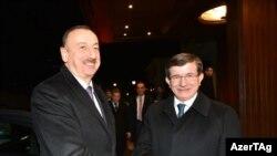İlham Əliyev və Ahmet Davutoğlu