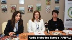 """Истражувачи од здружението """"Зелена берза"""" од Битола."""