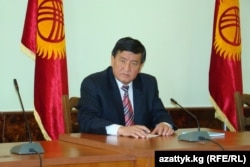 """Sooronbai Jeenbekov, who was appointed the governor of Osh just two months before the violence began, was exonerated by the KIC report, which said he had """"responded appropriately."""" Jeenbekov is now the president of Kyrgyzstan."""