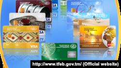 Türkmen plastik kartlary