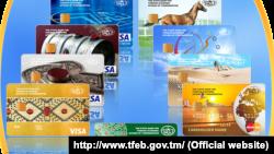 Türkmen bank kartlary