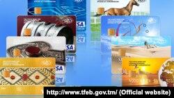 Türkmenistanyň bank kartlary
