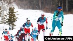 Соревнования лыжников в масс-старте на 50 километров, Пхенчхан, Южная Корея, 24 февраля 2018 год