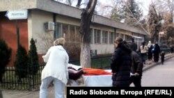 Клинички центар во Скопје.