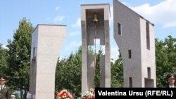 Monumentul în amintirea celor căzuți în războiul moldo-transnistrean pe platoul Cocieri