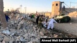 Աֆղանստան - Զաբուլի հիվանդանոցի մոտ «Թալիբան»-ի իրականացած պայթյունի հետևանքները, 19-ը սեպտեմբերի, 2019թ․